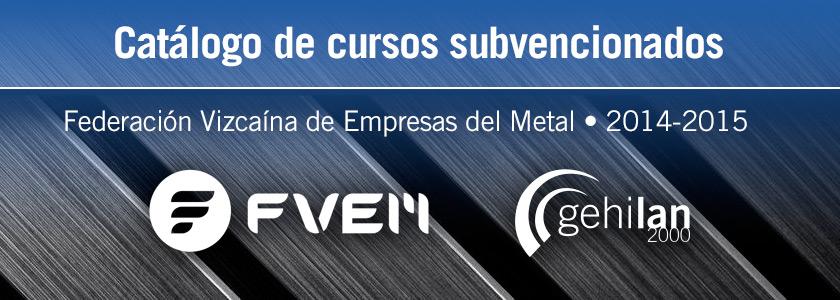 Catálogo cursos subvencionados metal