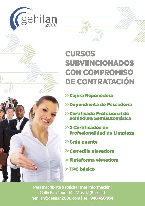 CURSOS COMPROMISO CONTRATACION SUBVENCIONADOS